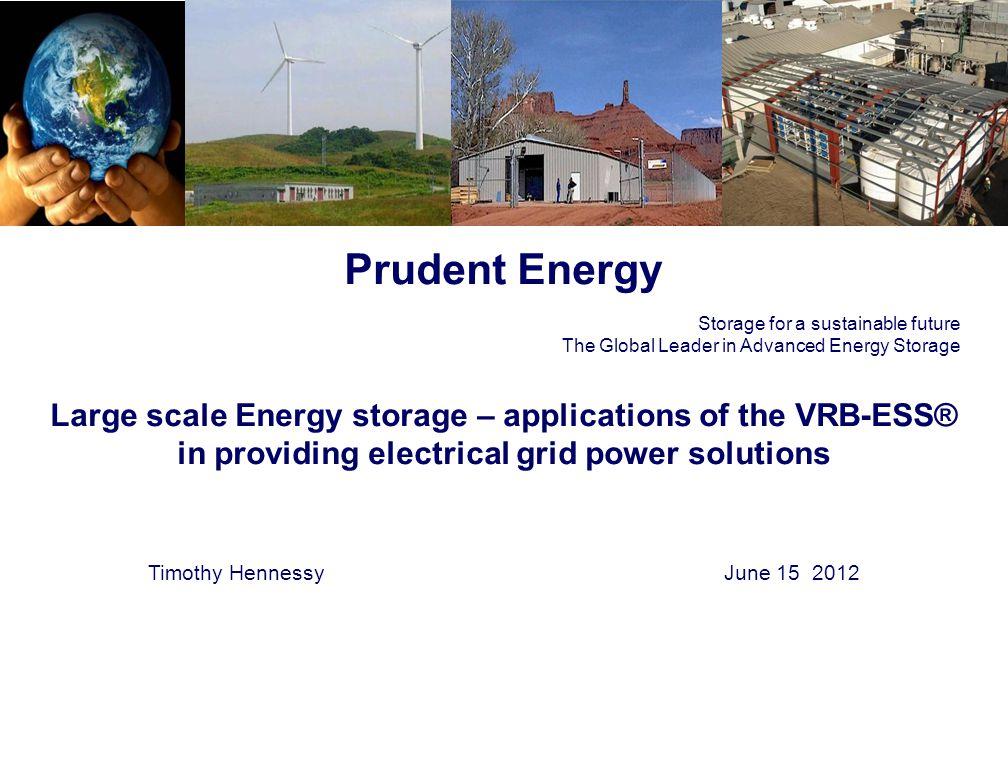 12 Cell stack evolution - 2002: 2012 SEI 42kW stack VRB P1 5kW 2004 VRB P3 5kW- 10kW VRB P3 2010 S5 stack 2012