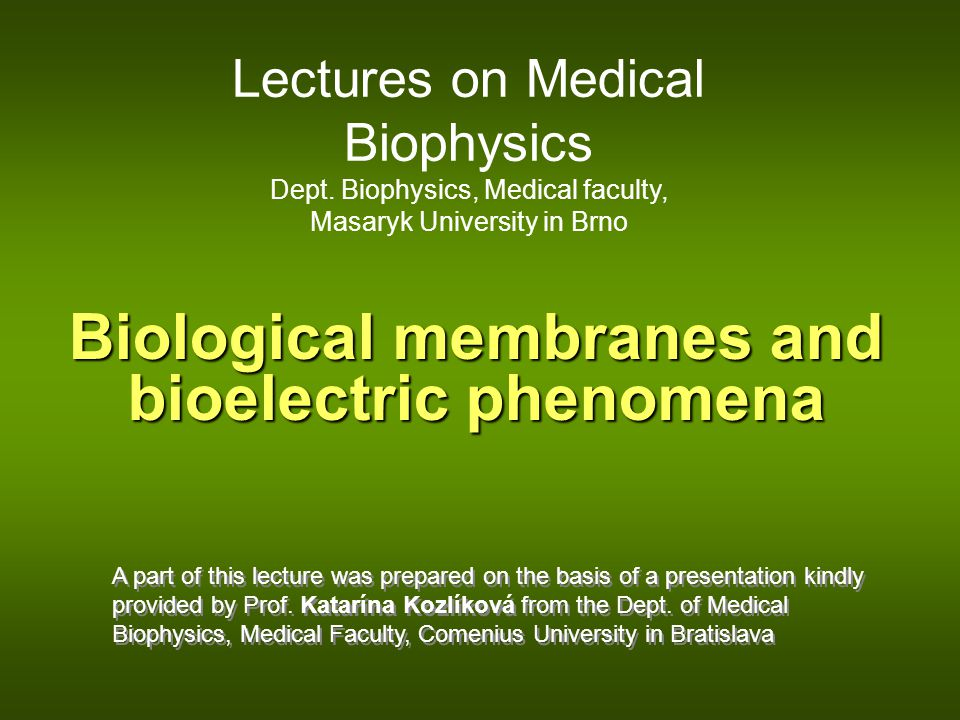 Biological membrane It is not possible to understand the origin of resting and action membrane voltage (potential) without knowledge of structure and properties of biological membrane.