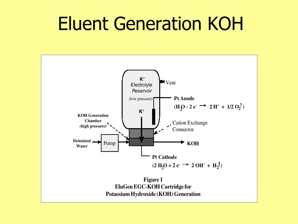 Eluent Generation KOH