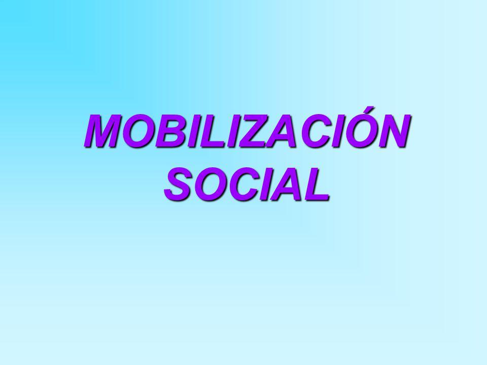 MOBILIZACIÓN SOCIAL