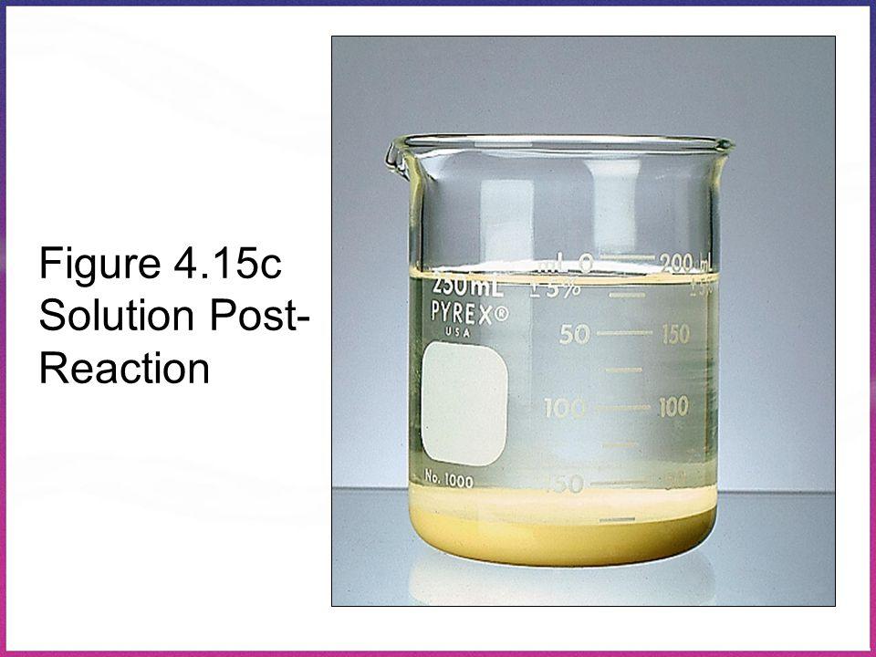 Figure 4.15c Solution Post- Reaction