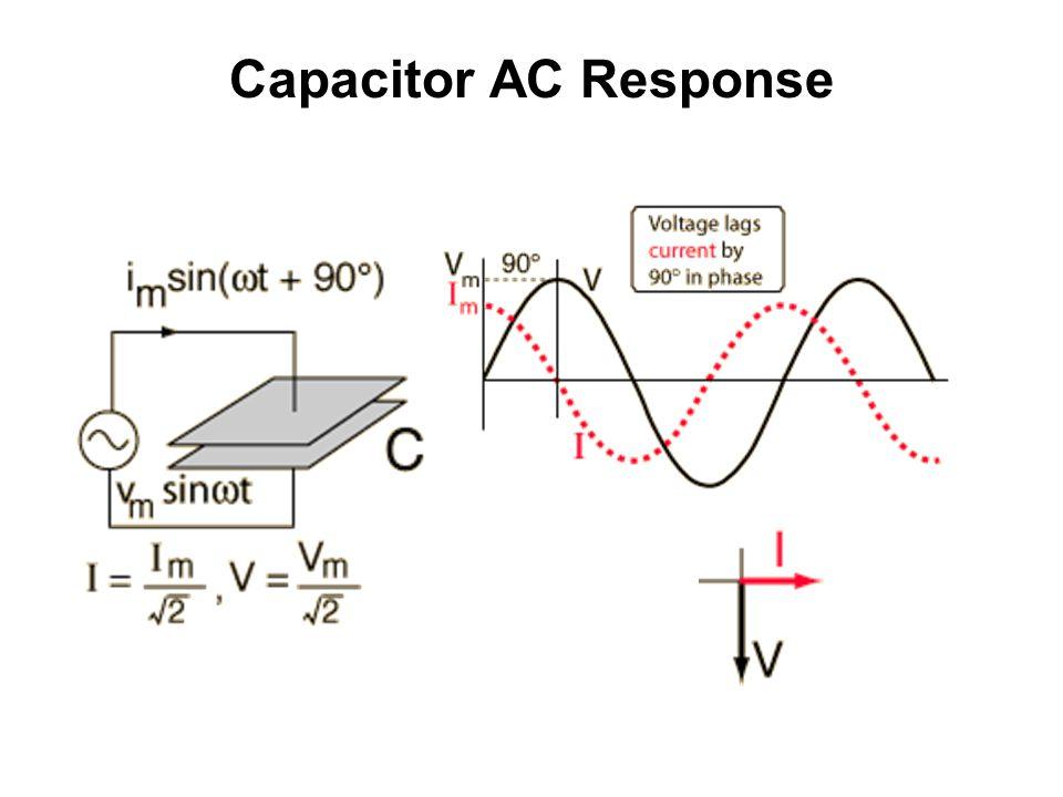 Capacitor AC Response