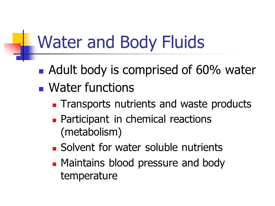 TEST QUESTIONS Water is involve in all of the following EXCEPT: A.