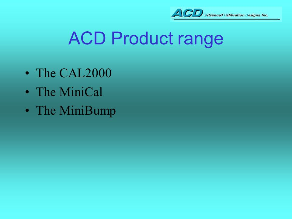 The ACD Family