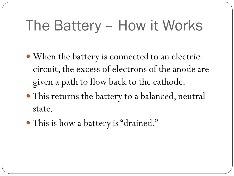 The Voltaic Pile Invented in 1800 by Alessandro Voltaire One of the first batteries Consists of several Voltaic Cells stacked on each other Each Voltaic Cell consists of a piece of copper, which acts as the cathode, a piece of zinc, which acts as the anode, and a piece of paper soaked in an electrolyte.