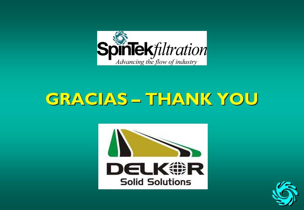 GRACIAS – THANK YOU