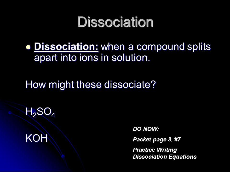 54 Solution Describe each solution as: 1) acid 2) base or 3) neutral.