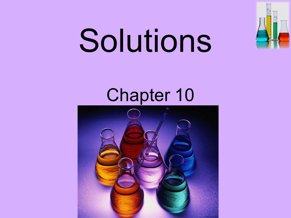 Solutions Chapter 10