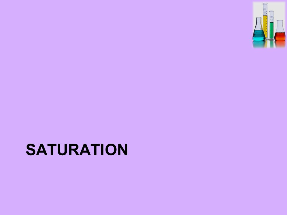 saturated solution: contains the maximum amount of a solute that will dissolve in a given solvent at a specific temperature.