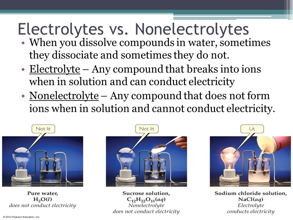 Lecture 3.1 – Net Ionic Equations and Electrolytes LT 3.1 – I can identify a compound as being a strong, weak, or non – electrolyte.