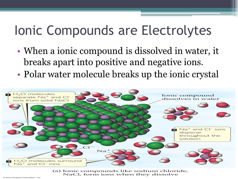 Electrolytes vs.