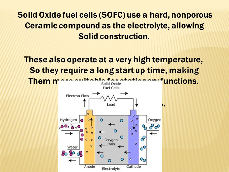 Molten metal carbonate fuel cells use an Electrolyte of molten carbonate salt mixture in A porous, chemically inert ceramic lithium Aluminum oxide (Li