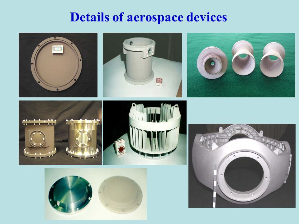 Details of aerospace devices