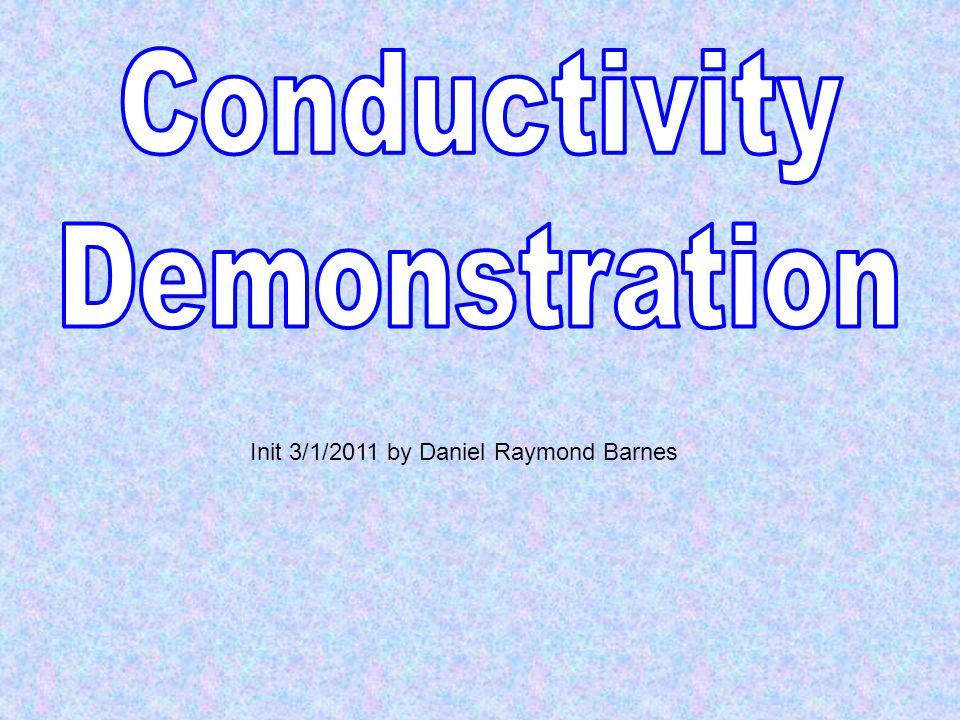 Init 3/1/2011 by Daniel Raymond Barnes