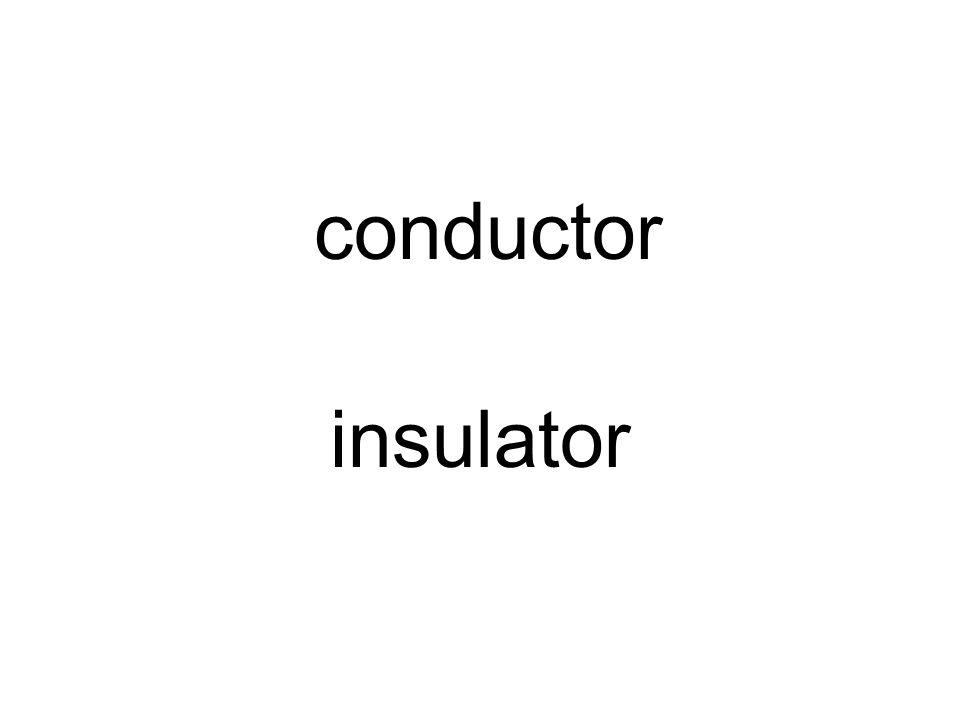 conductor insulator