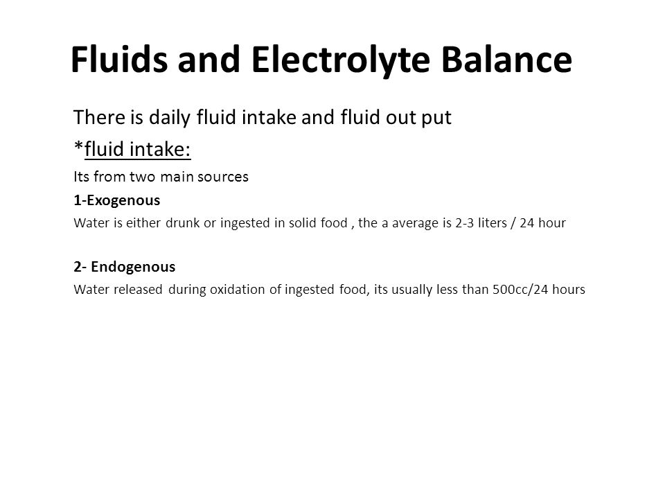 *fluid out put Water lost from the body by 4 routes: 1- Lungs About 400 cc of water is lost in expired air/24 hours.