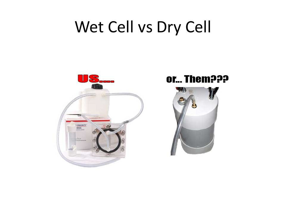 Wet Cell vs Dry Cell