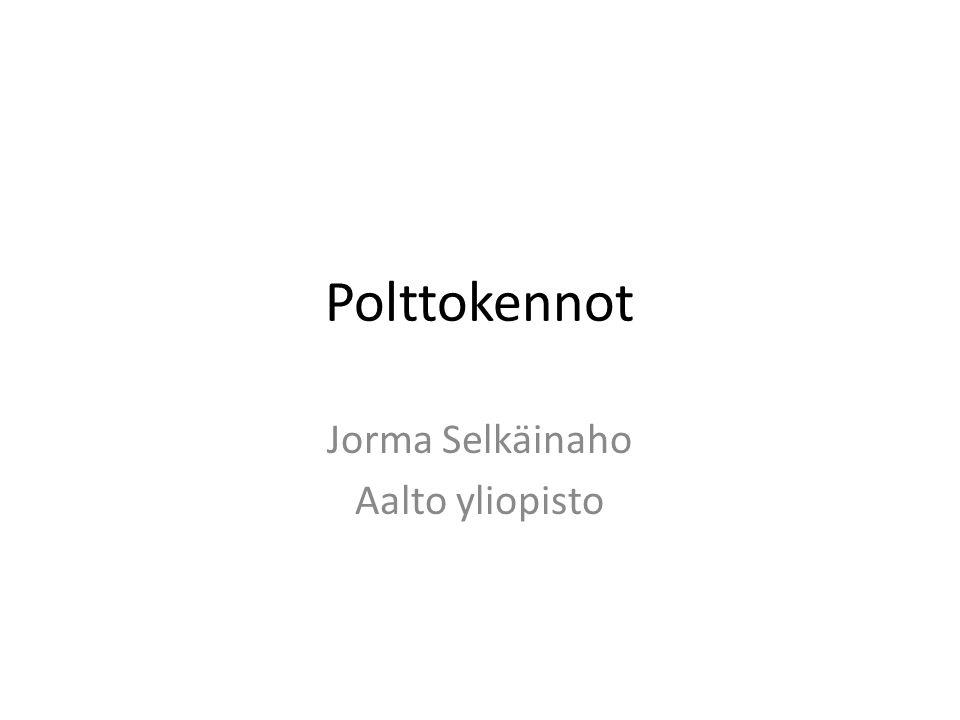 Polttokennot Jorma Selkäinaho Aalto yliopisto
