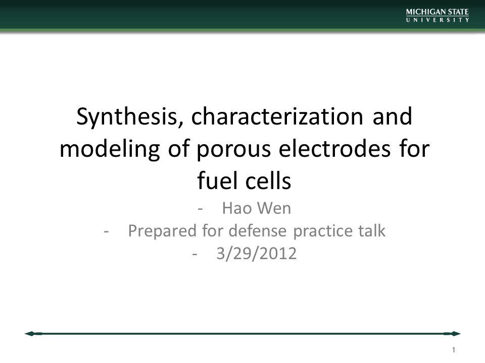 52 Comprehensive Model setup - SOFC Comprehensive Case including all processes No analytical solution possible.
