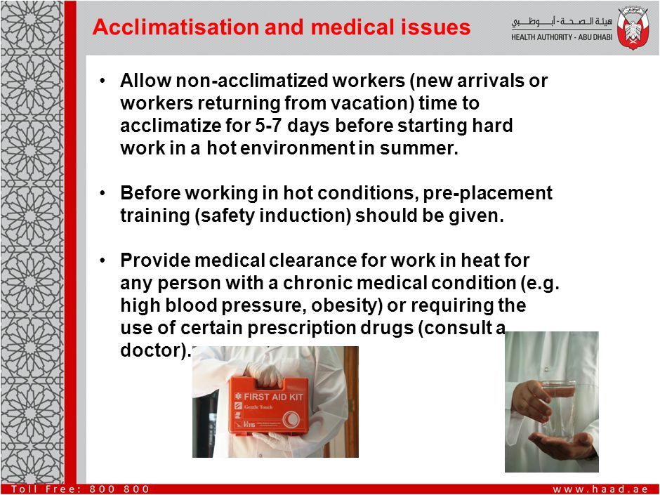 Responsibilities of Employers Heat exposure and heat stroke can be fatal if proper controls are not implemented.