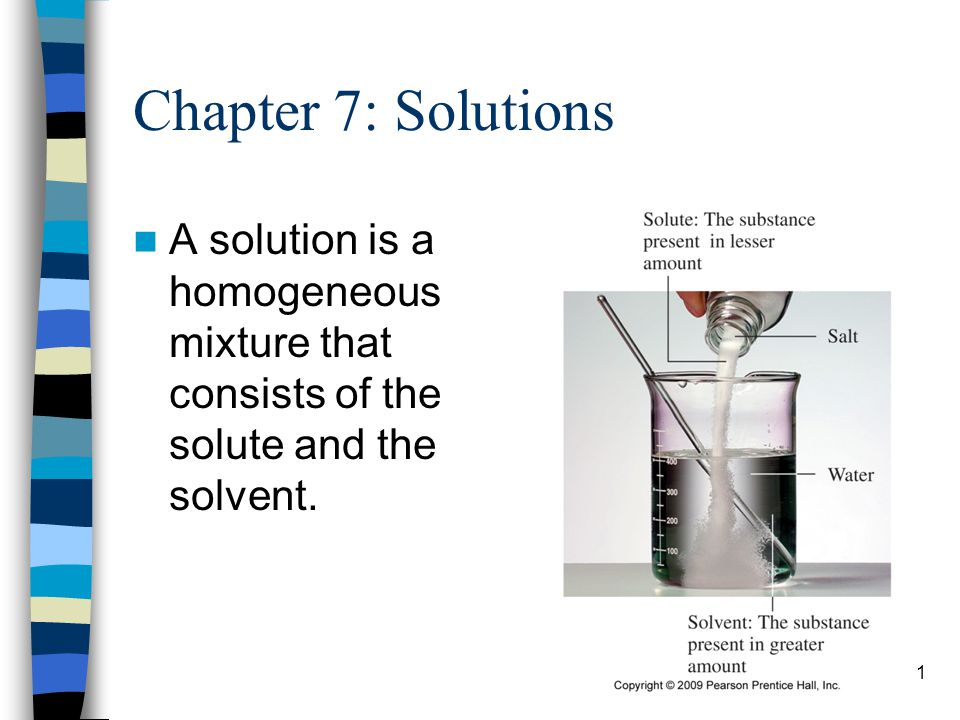 42 Learning Check A semipermeable membrane separates a 10% sucrose solution A from a 5% sucrose solution B.