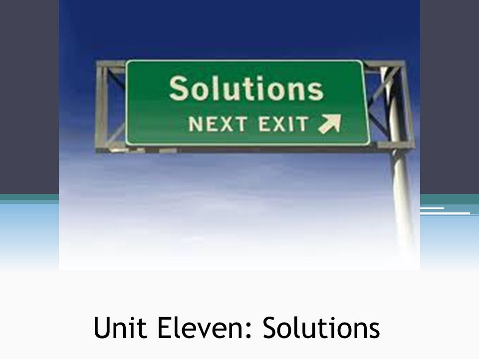 Solutions A solution is a homogeneous mixture of two or more substances ▫Homogeneous – uniform characteristics throughout ▫Heterogeneous – different compositions; various throughout Solutions have at least two components ▫Solutes – the minority component ▫Solvents – the majority component ▫75% isopropyl solution – solute is water, solvent is isopropyl ▫3% H 2 O 2 – solute is H 2 O 2, solvent is water