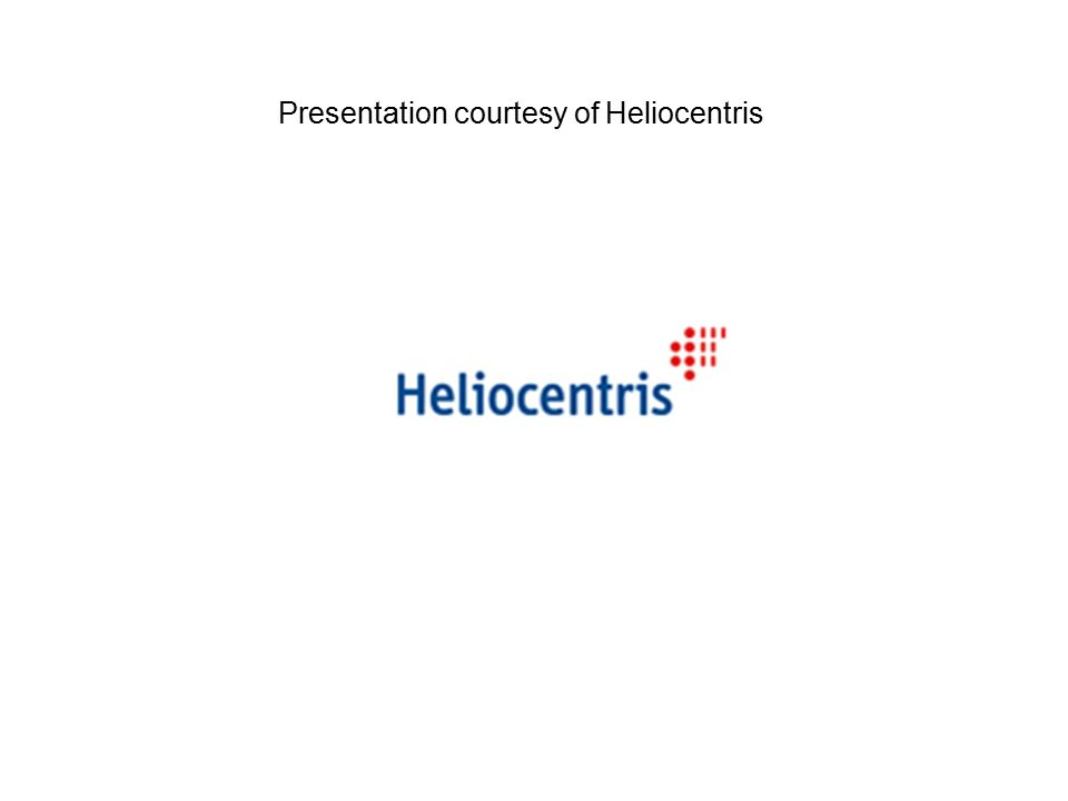 Presentation courtesy of Heliocentris
