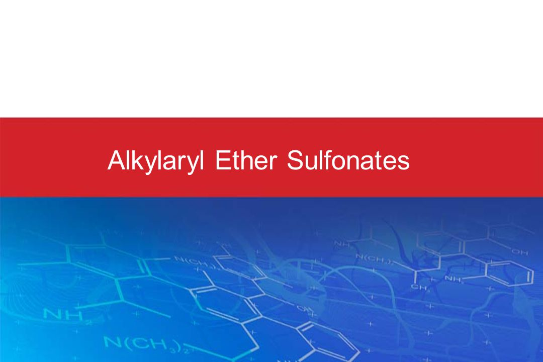 Alkylaryl Ether Sulfonates