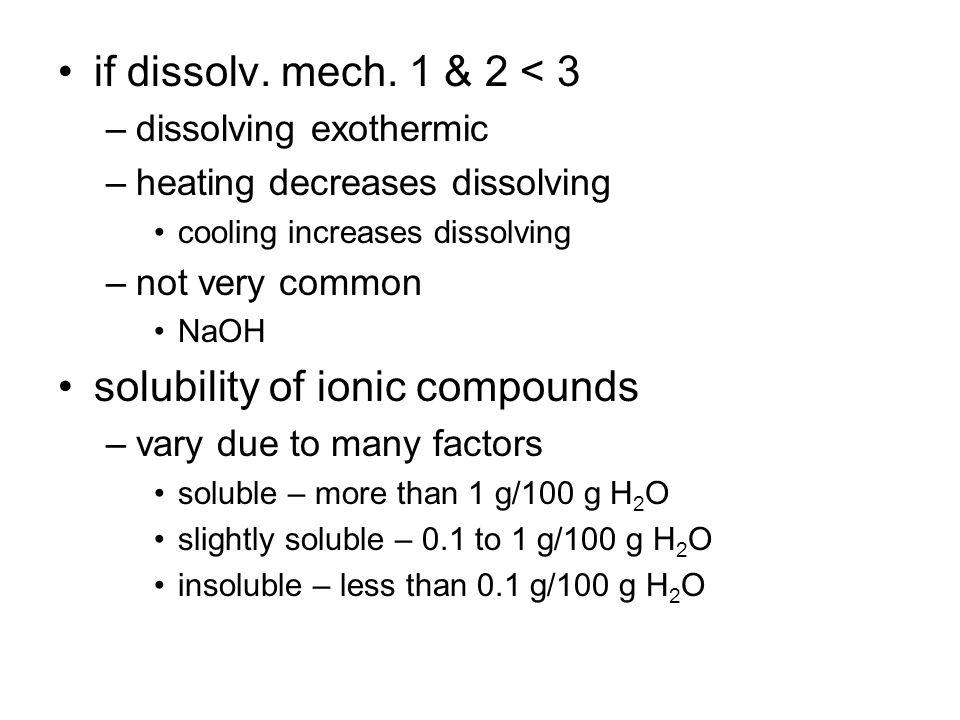 if dissolv. mech.