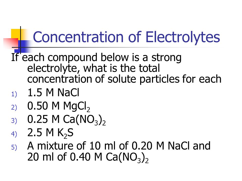 Example Which of the following would be the best conductor of electricity.