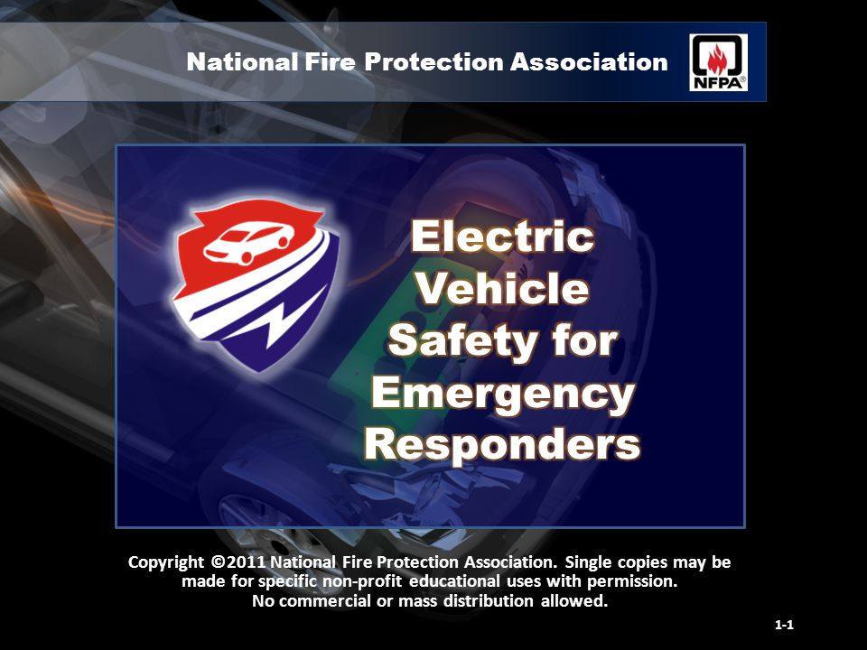 National Fire Protection Association Copyright ©2011 National Fire Protection Association.
