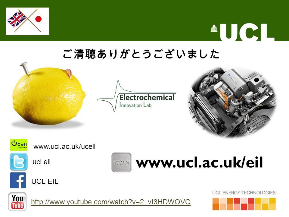 ご清聴ありがとうございました UCL EIL http://www.youtube.com/watch?v=2_vI3HDWOVQ www.ucl.ac.uk/eil ucl eil www.ucl.ac.uk/ucell