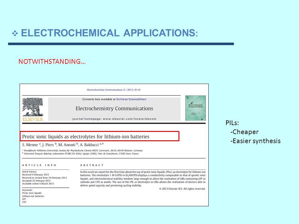  WORK IN PROGRESS : Pseudolattice theory 1)Li + solvation in longer chained members of the ethylammonium nitrate family 2)Extensions of pseudolattice theory