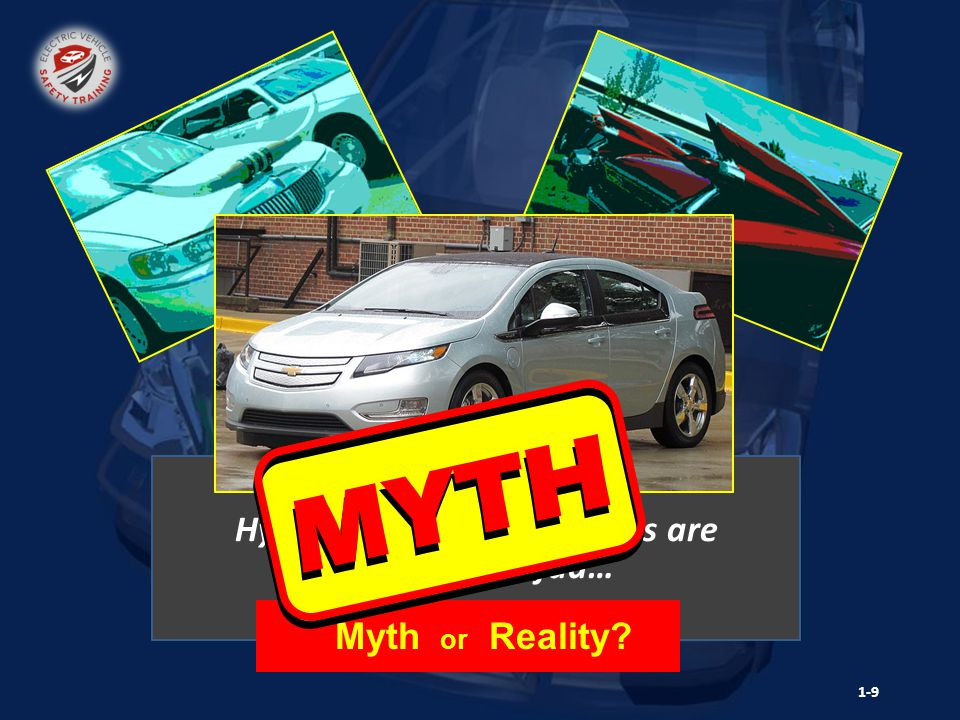 Hybrid Electric Vehicle Hybrid and Electric Vehicles are just another fad… Myth or Reality? 1-9 MYTH