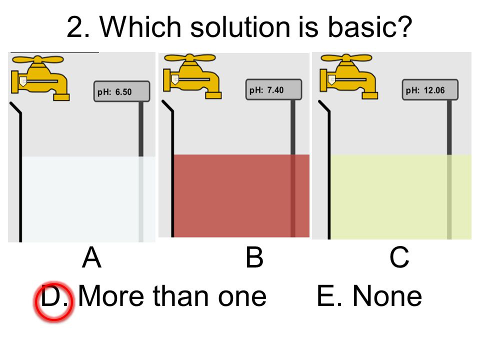 2. Which solution is basic? ABC D. More than one E. None