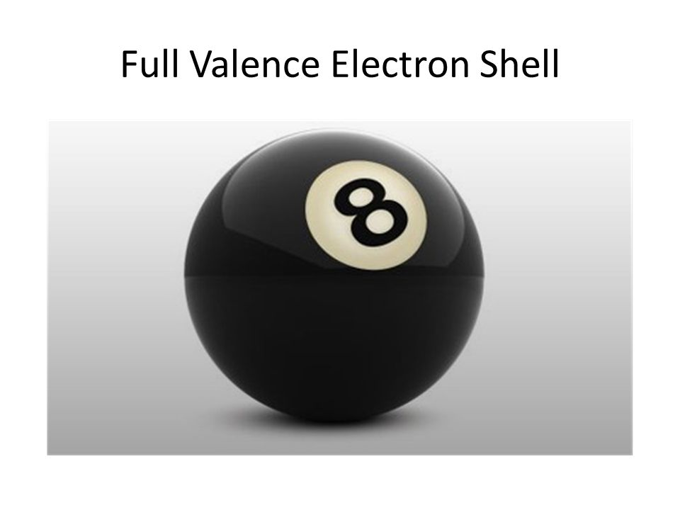 Full Valence Electron Shell