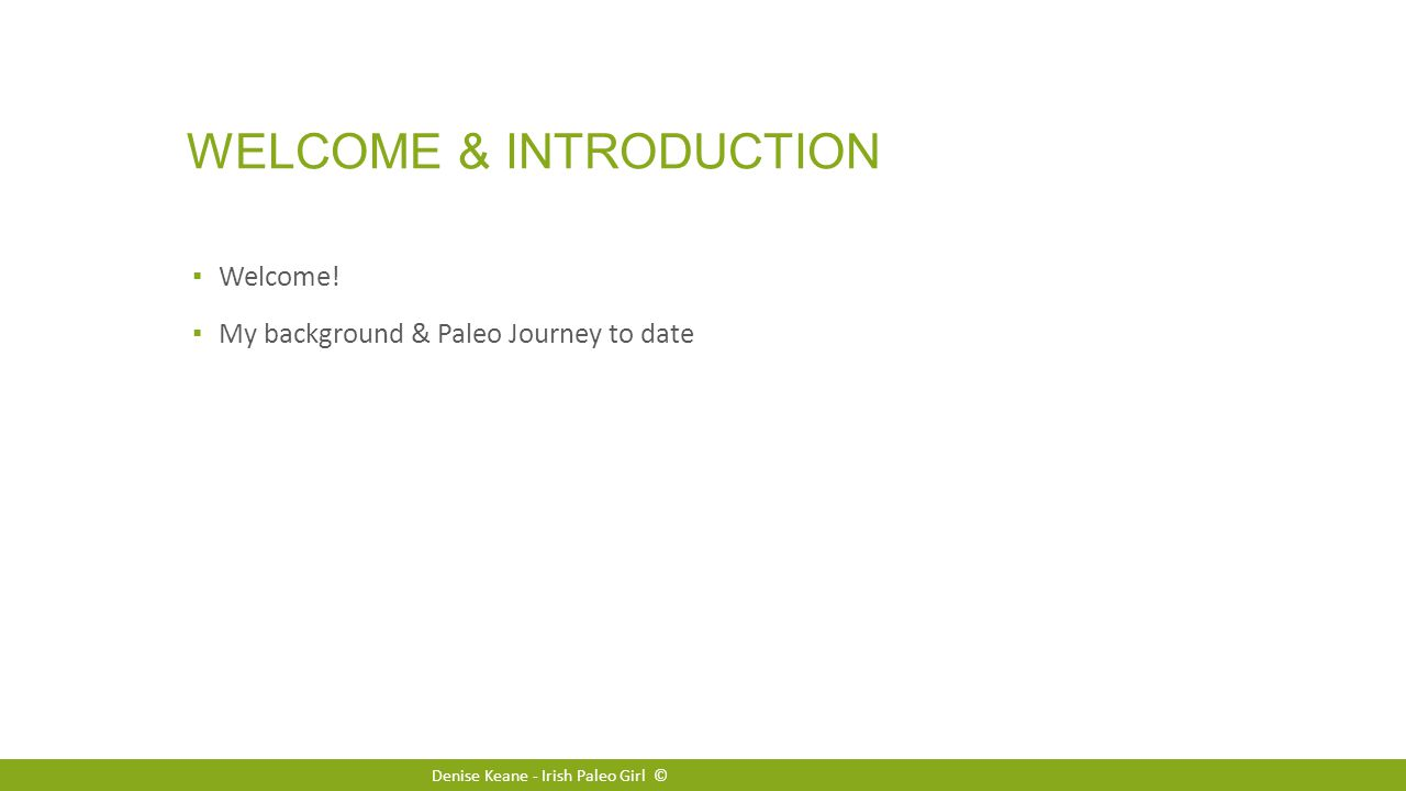 WELCOME & INTRODUCTION ▪ Welcome.