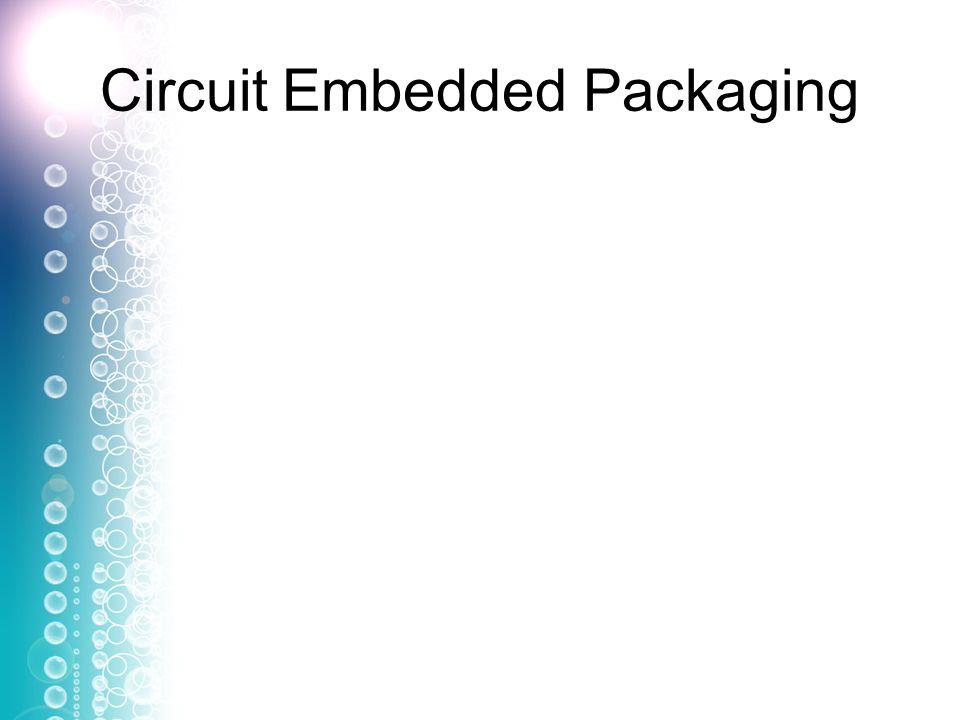 Circuit Embedded Packaging