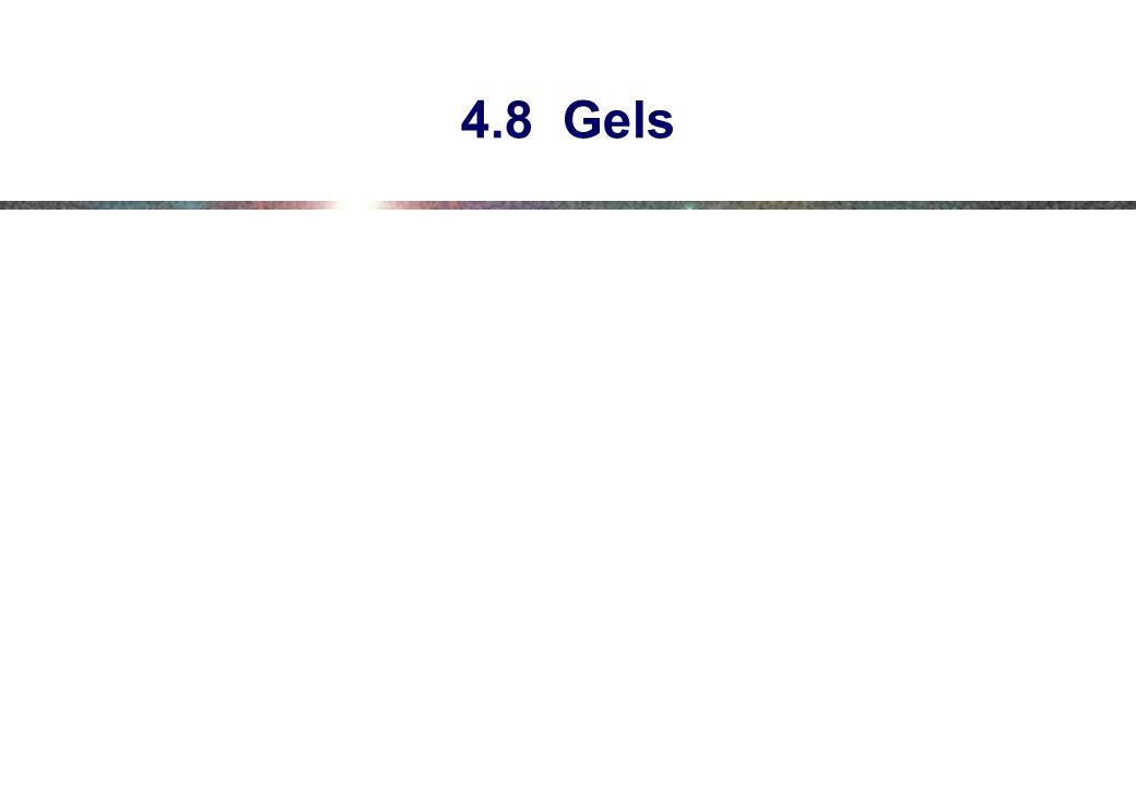 4.8 Gels