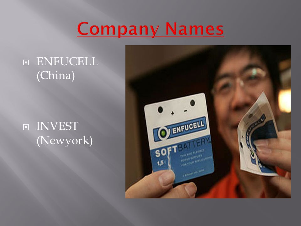  ENFUCELL (China)  INVEST (Newyork)