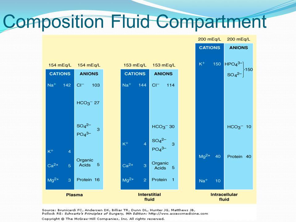 Composition Fluid Compartment