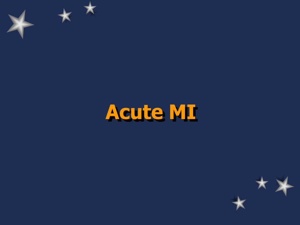 Acute MI