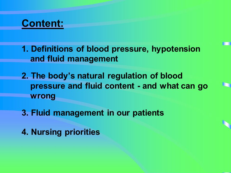 Definitions Blood pressure: The force per unit area exerted on the walls of the blood vessels, by the blood contained within them.