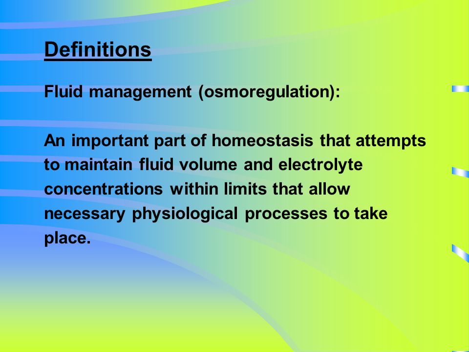 Isotonic imbalance b) Fluid volume excess: (oedema) retention of water and electrolytes in proportion to the composition of the ECF.