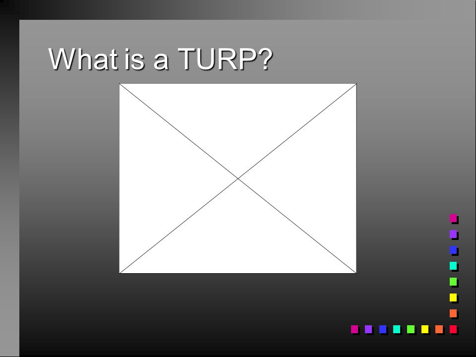 What is a TURP