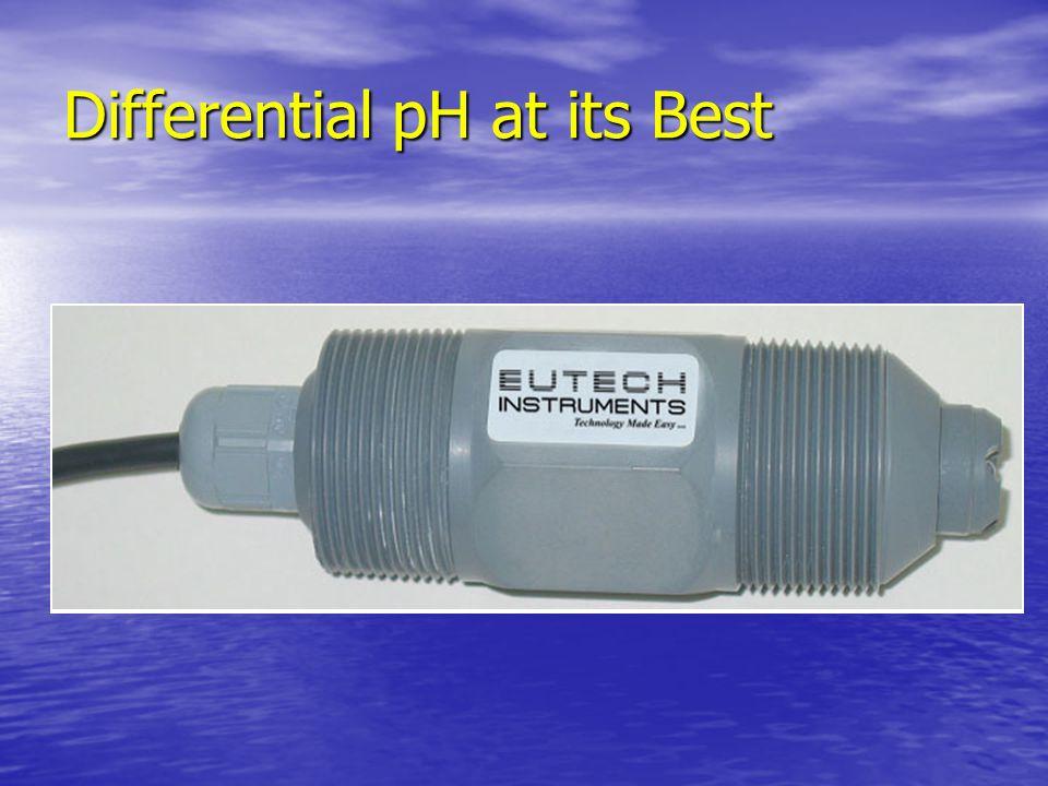Differential Technique E 1 - E 3 -(E 2 - E 3 ) (E 1 - E 2 ) Solution Ground Electrode (E 3 ) Temperature Compensator Reference Electrode (E 2 ) Proces