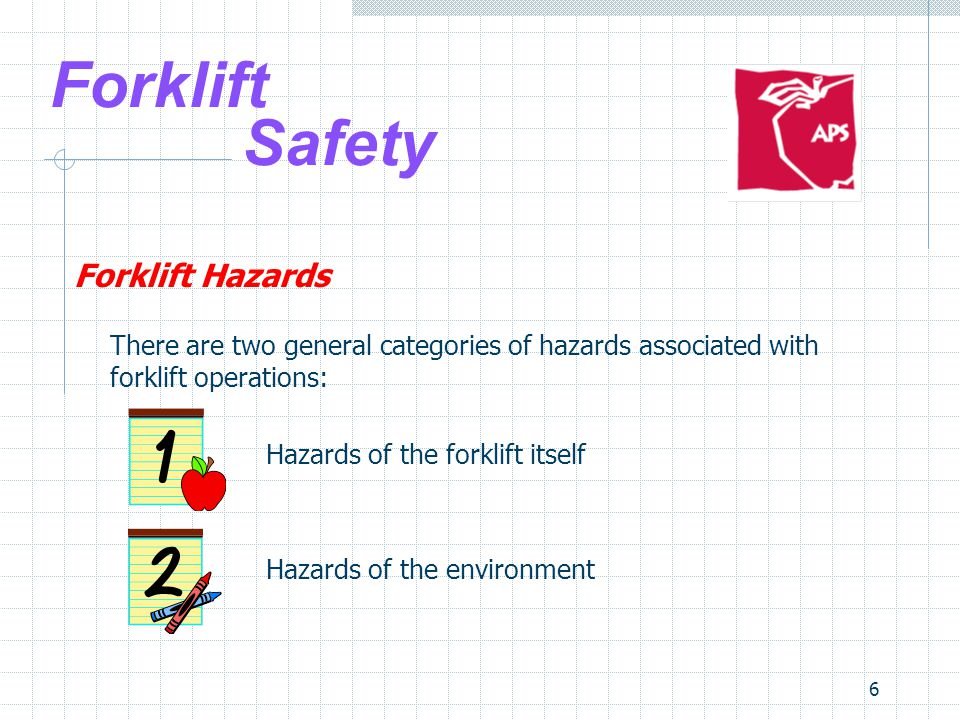 17 Forklift Safety Safe Forklift Operation 3.Driving  Match speed to load and conditions Decrease speed at all corners and sound horn Watch for pedestrians and obey posted traffic signs