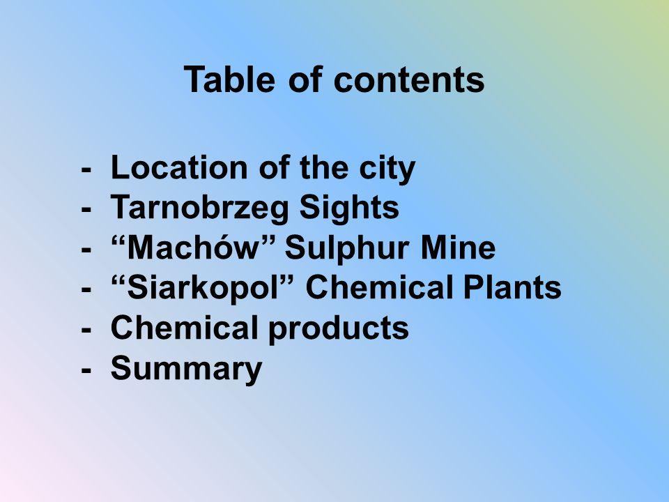 Siarkopol Chemical Plants