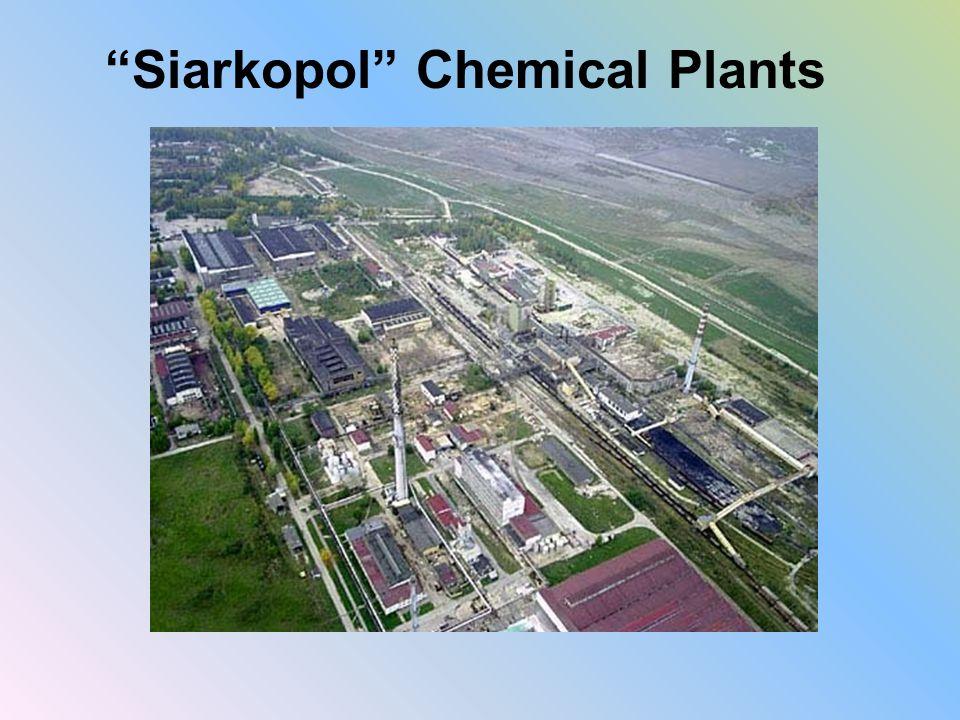 """Siarkopol"" Chemical Plants"