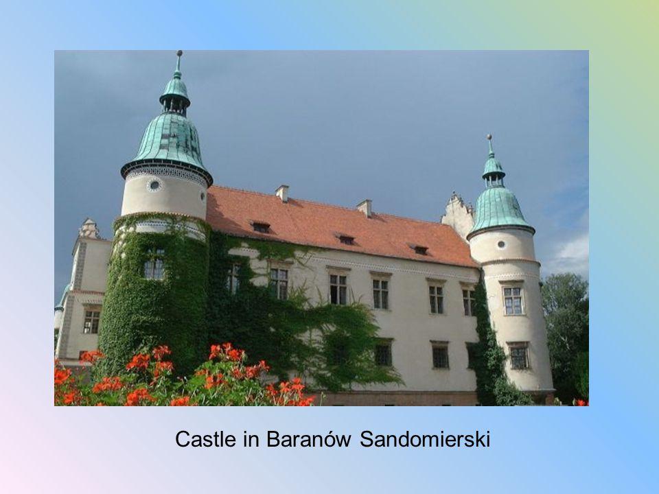Castle in Baranów Sandomierski
